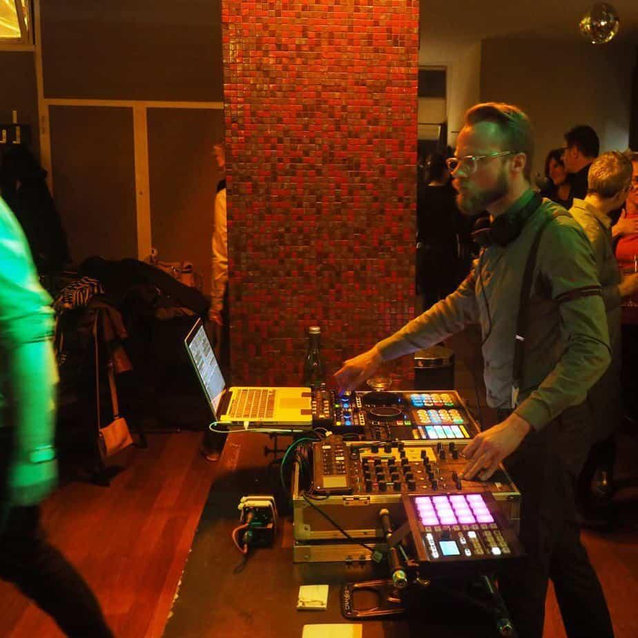 Event DJ Greg Oorange im Restaurant Schoenbrunn