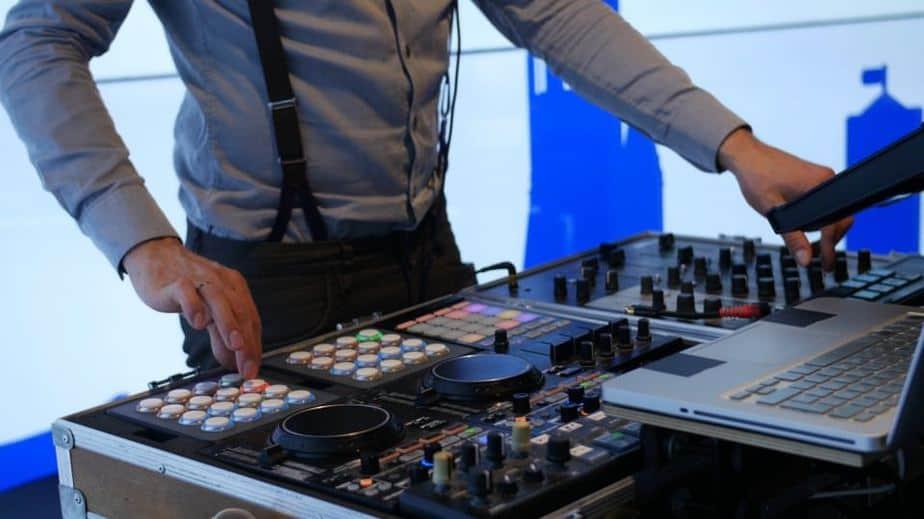 DJ Setup von Kongress DJ Greg Oorange