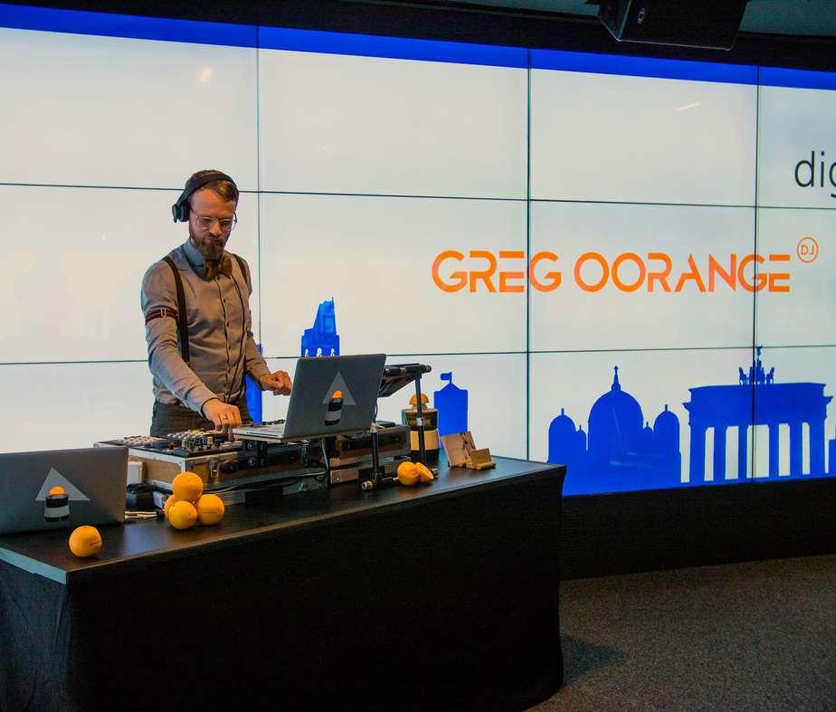 Event DJ Greg Oorange im Brandenburger Tor Museum