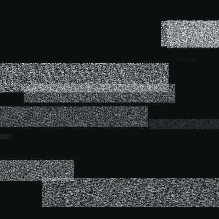 Visuelle Projektion mit weißen Balken
