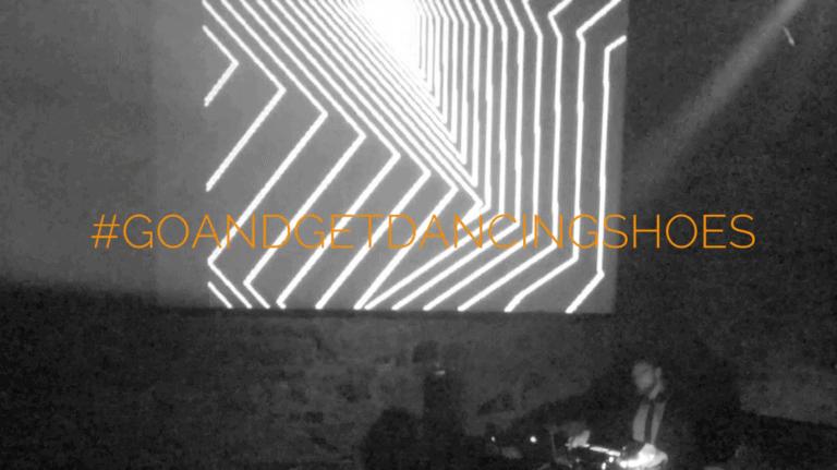 Live DJ Set von Greg Oorange mit visuellen Projektionen